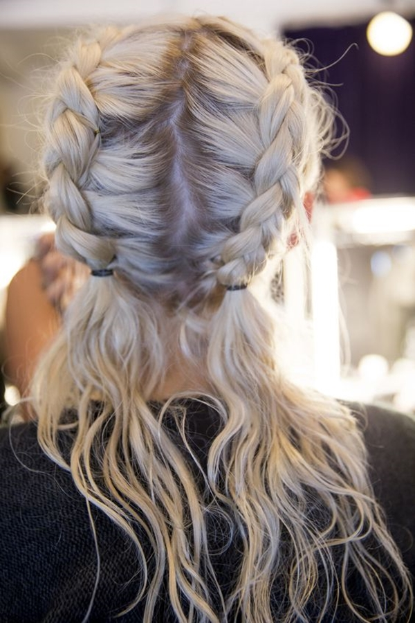 Cute and Girly Hairstyles with Braids - (28)