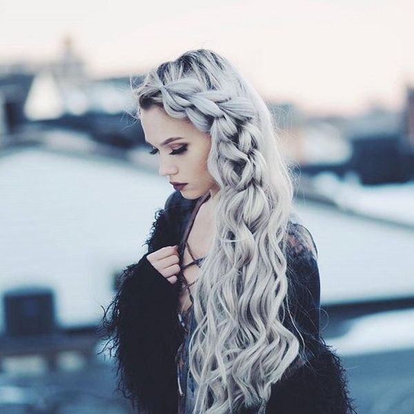 Cute and Girly Hairstyles with Braids - (37)
