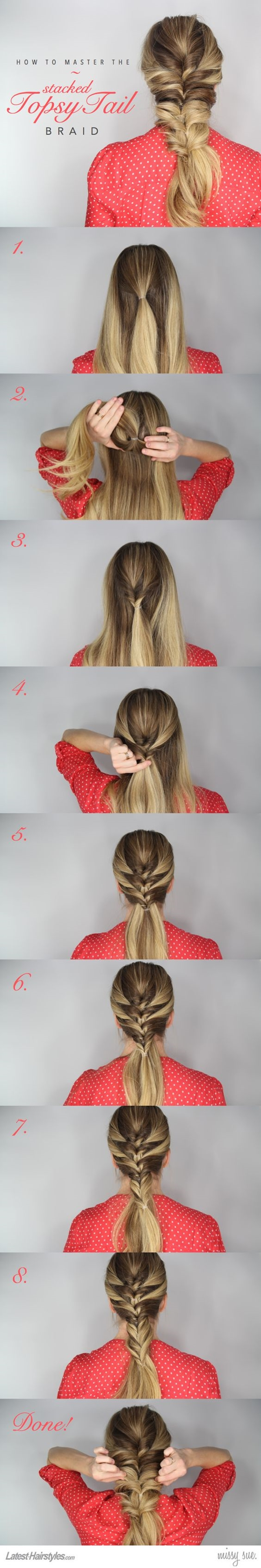 Cute and Girly Hairstyles with Braids - (38)