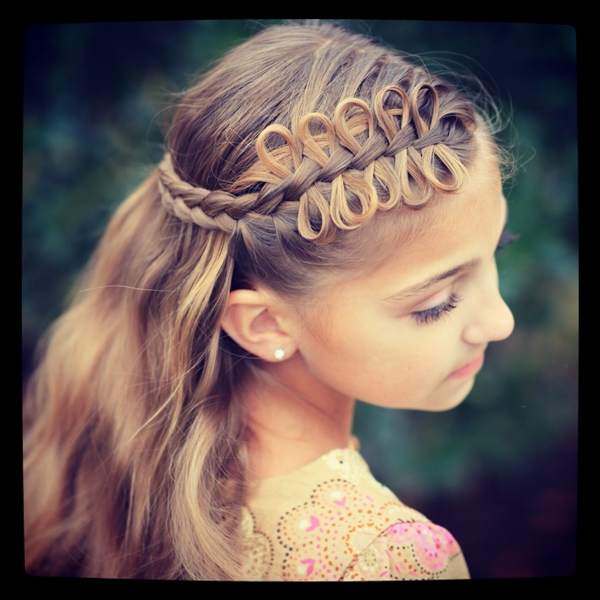 Cute and Girly Hairstyles with Braids - (39)