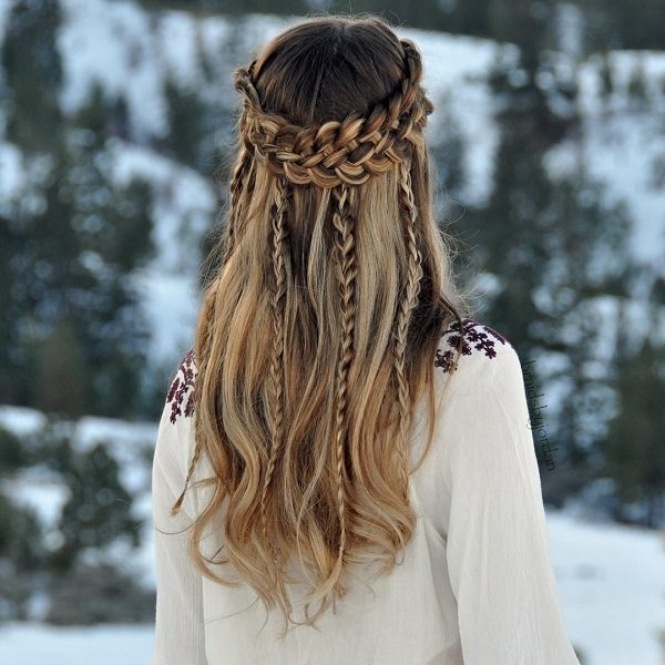 Cute and Girly Hairstyles with Braids - (4)