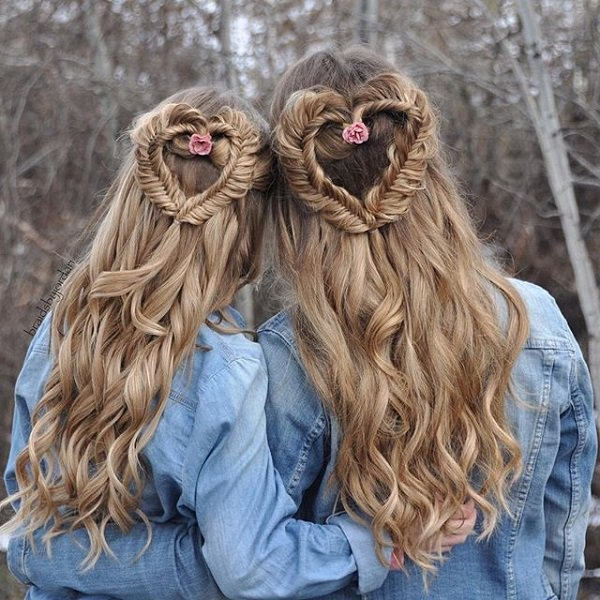 Cute and Girly Hairstyles with Braids - (5)