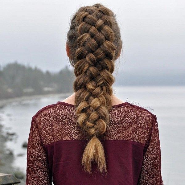 Cute and Girly Hairstyles with Braids - (6)