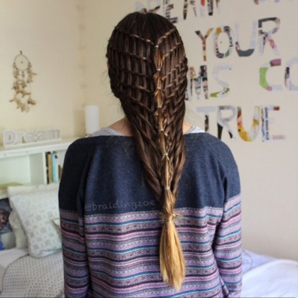 Cute and Girly Hairstyles with Braids - (7)