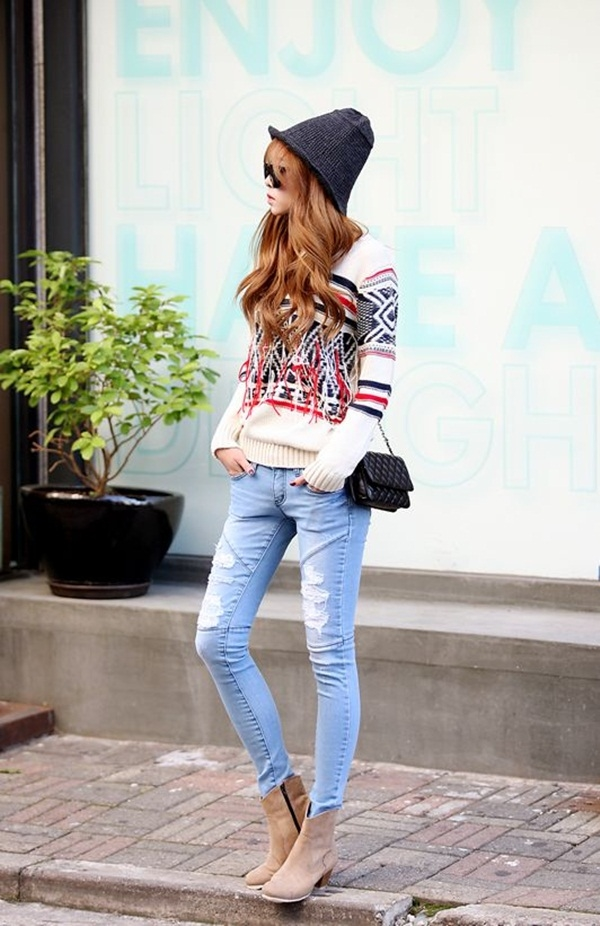 40 Flawless Fall Outfits For School Girls (12)