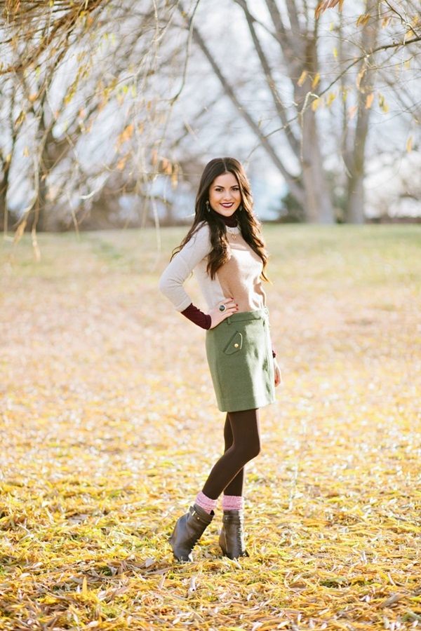 40 Flawless Fall Outfits For School Girls (16)