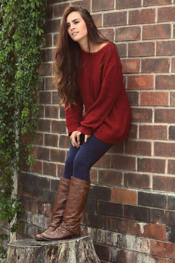 40 Flawless Fall Outfits For School Girls (30)