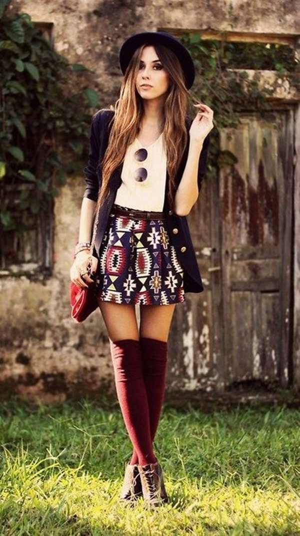 40 Flawless Fall Outfits For School Girls (37)