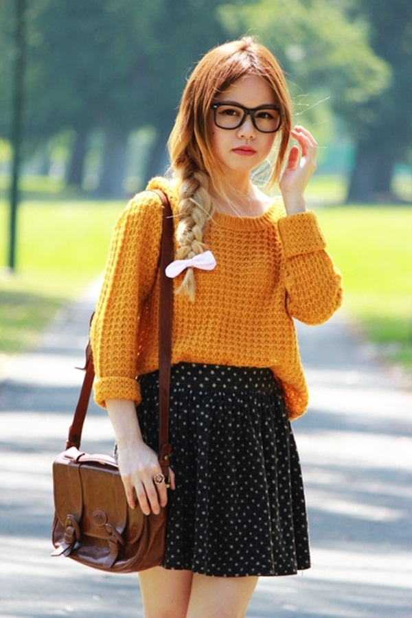 40 Flawless Fall Outfits For School Girls (5)