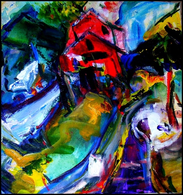 Abstract Painting Ideas for Beginners (24)