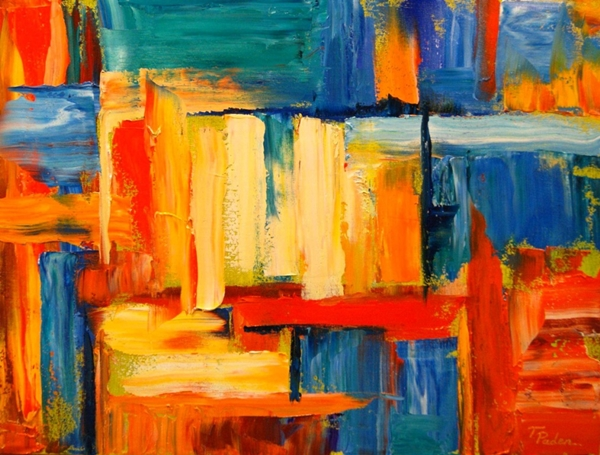 Abstract Painting Ideas for Beginners (31)