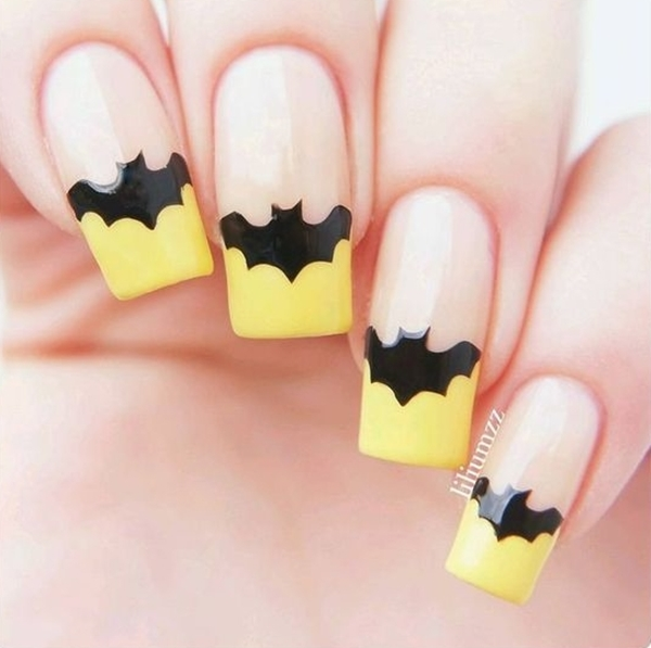 Inspiring Superhero Nail Art Ideas  (1)