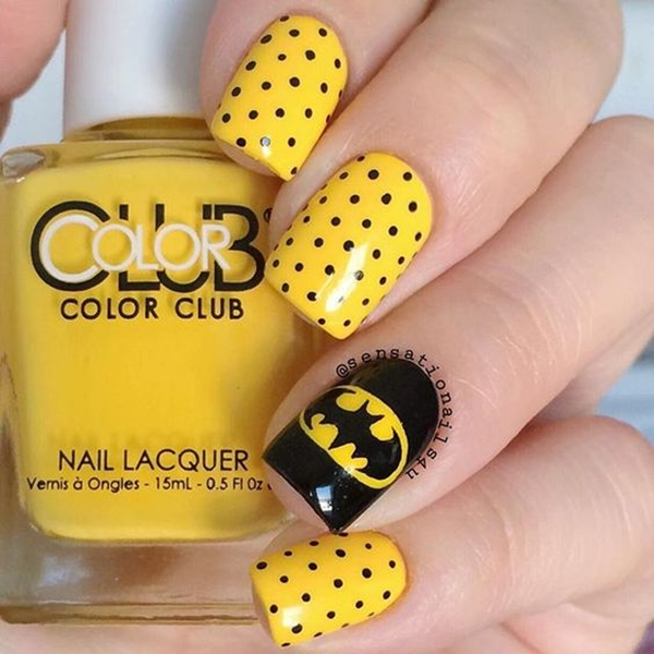 Inspiring Superhero Nail Art Ideas  (11)