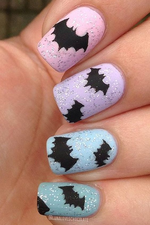 Inspiring Superhero Nail Art Ideas  (24)
