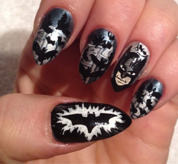 Inspiring Superhero Nail Art Ideas  (25)