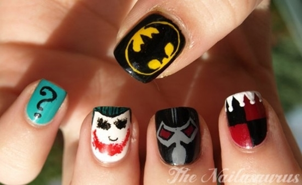 Inspiring Superhero Nail Art Ideas  (31)