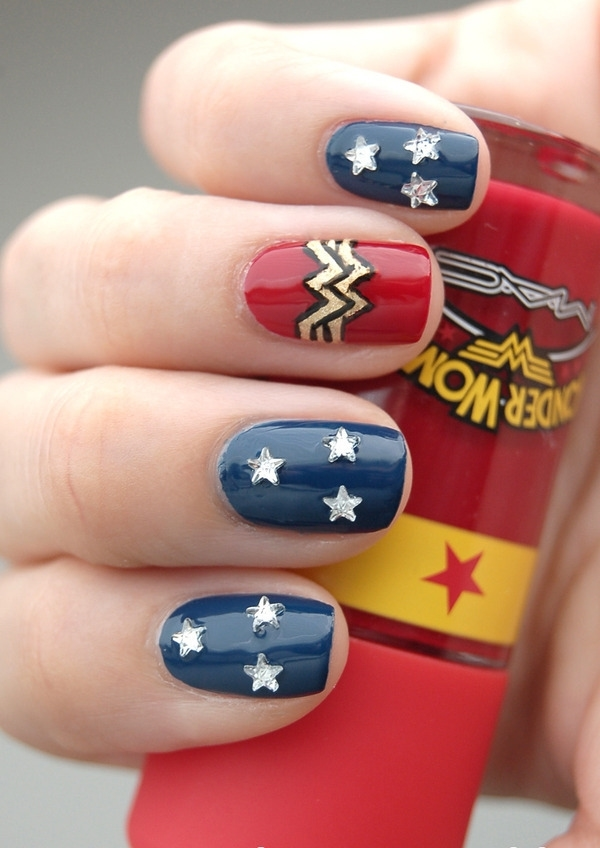 Inspiring Superhero Nail Art Ideas  (32)