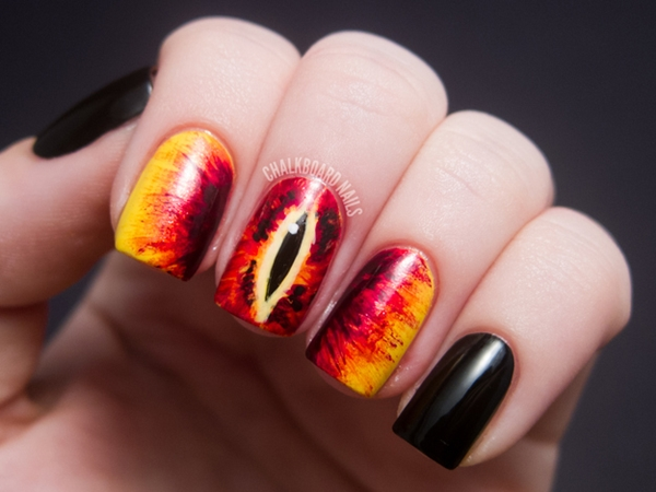 Inspiring Superhero Nail Art Ideas  (33)