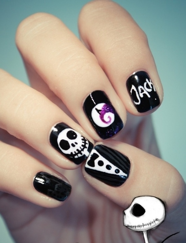 Inspiring Superhero Nail Art Ideas  (35)