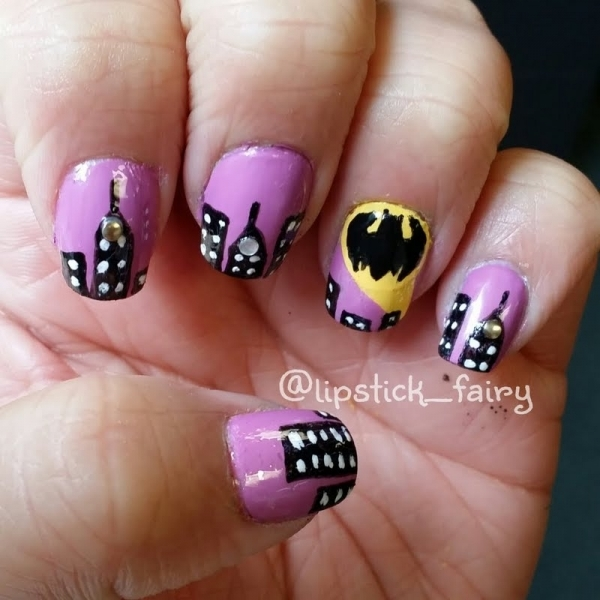 Inspiring Superhero Nail Art Ideas  (40)