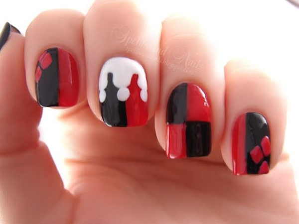 Inspiring Superhero Nail Art Ideas  (5)