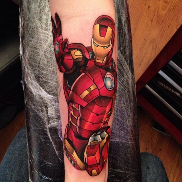 Mightiest Marvel Comic Tattoo Designs (11)