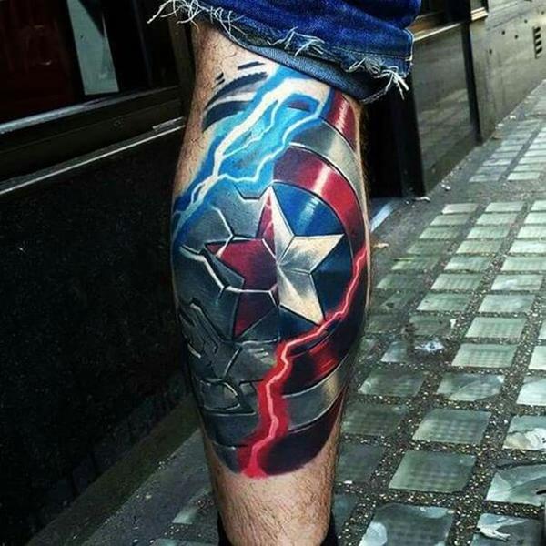 Mightiest Marvel Comic Tattoo Designs (12)