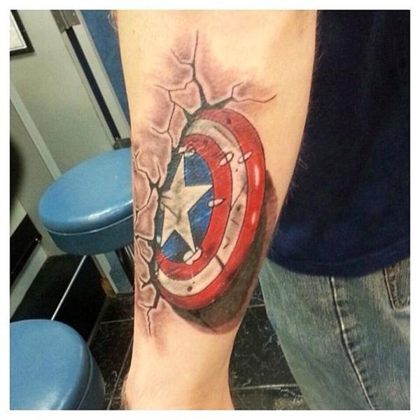 Mightiest Marvel Comic Tattoo Designs (13)