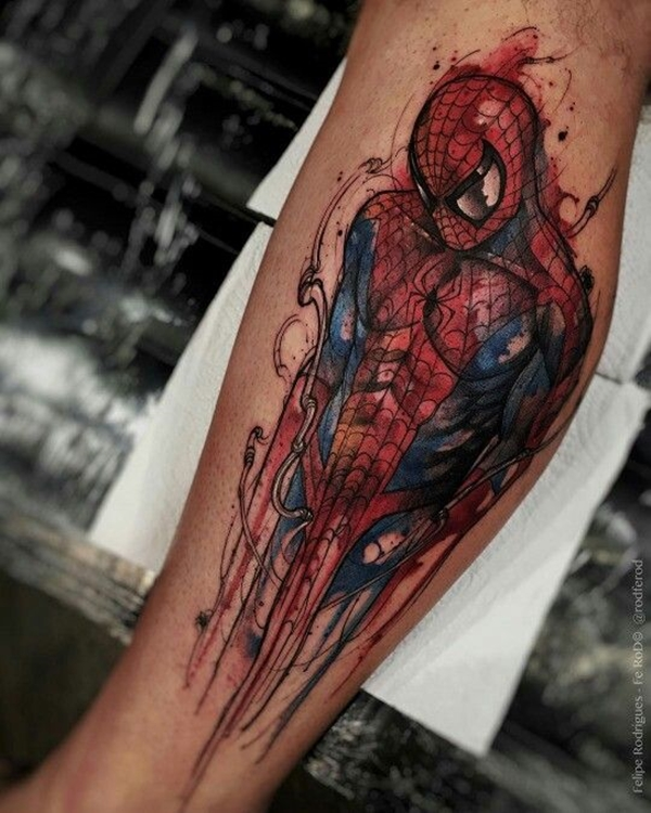 Mightiest Marvel Comic Tattoo Designs (19)