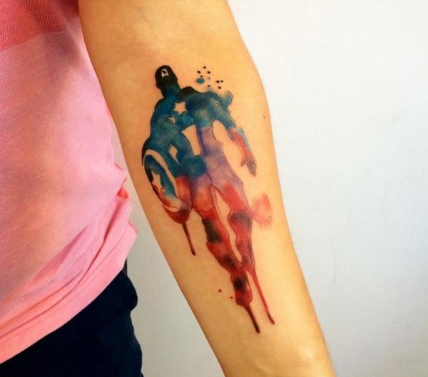 Mightiest Marvel Comic Tattoo Designs (2)