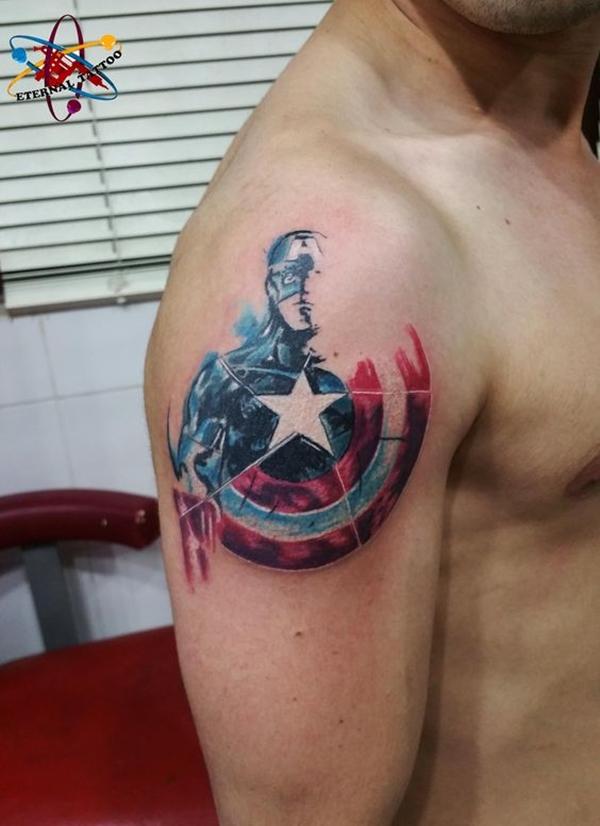 Mightiest Marvel Comic Tattoo Designs (23)
