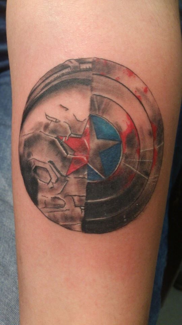 Mightiest Marvel Comic Tattoo Designs (24)