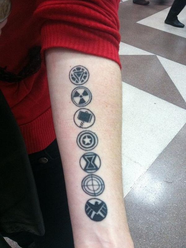 Mightiest Marvel Comic Tattoo Designs (26)