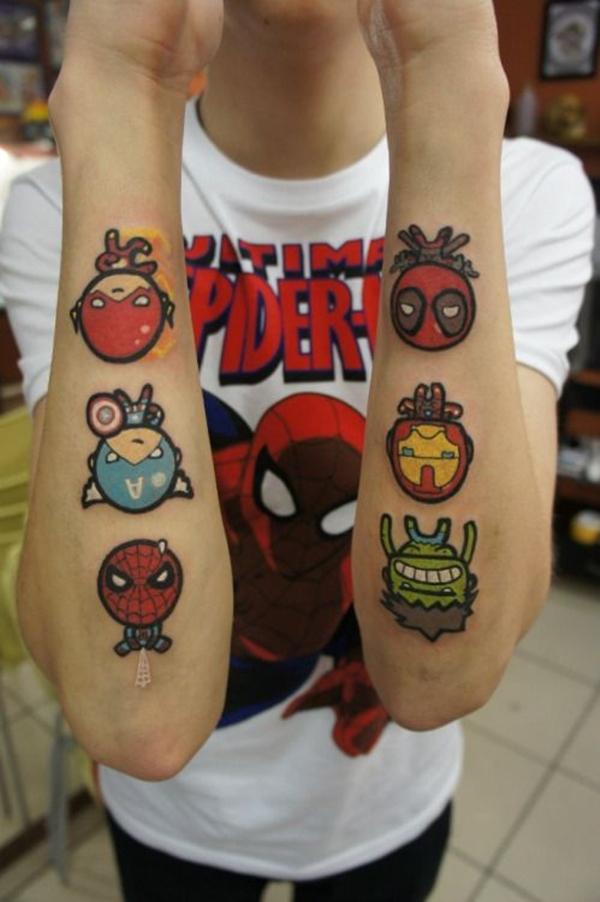 Mightiest Marvel Comic Tattoo Designs (33)