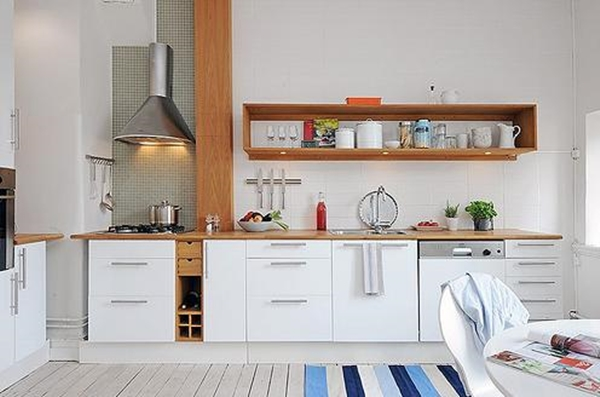 So Many Ways To Go Green Even The Kitchen Island: 40 Most Functional And Productive Modern Kitchen Ideas