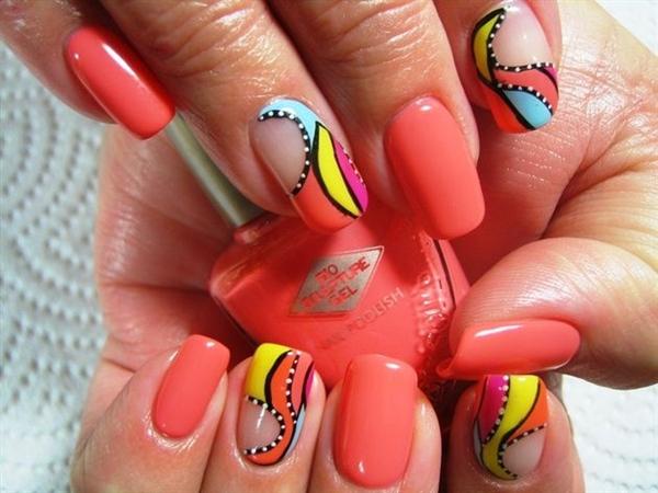 Acrylic Nail Designs (14)