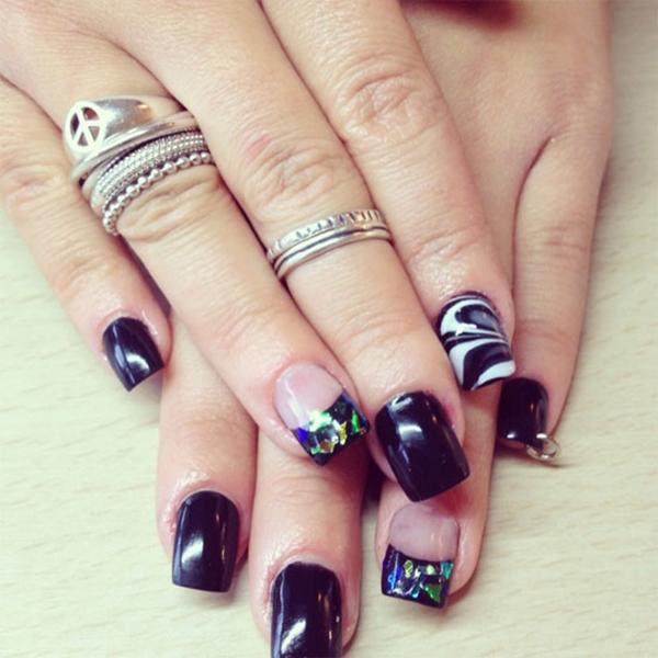 Acrylic Nail Designs (27)