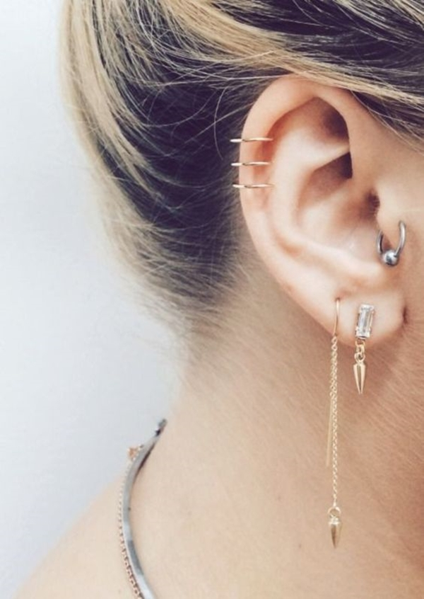 Different Types of Ear Piercings 1