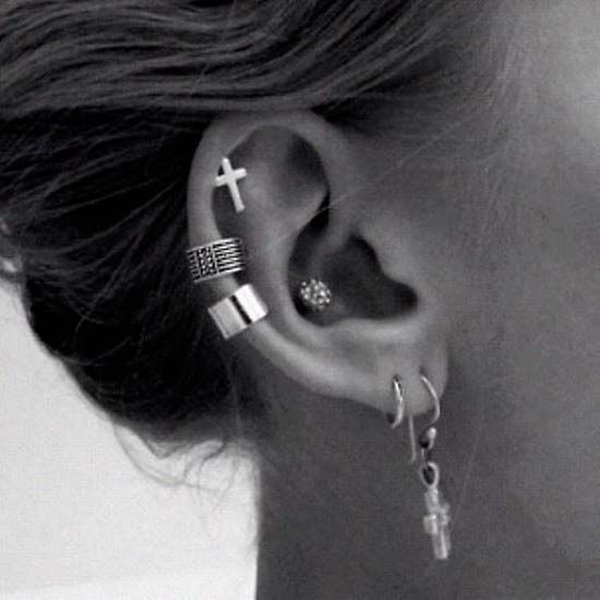 Cute hoop earrings tumblr