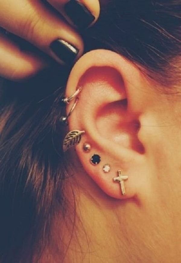 Different Types of Ear Piercings (15)