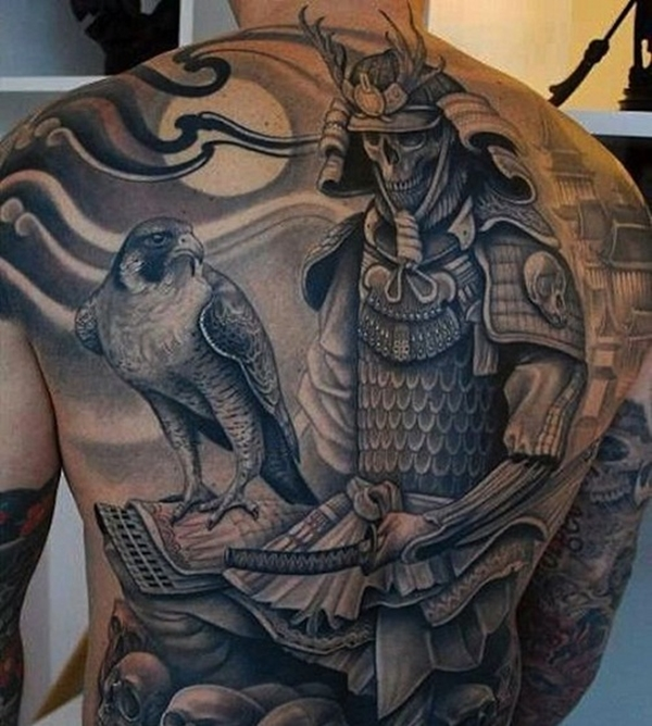 40 samurai warrior tattoo designs. Black Bedroom Furniture Sets. Home Design Ideas