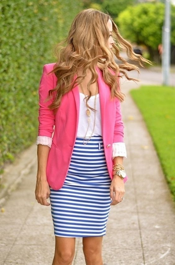 office-inspired-striped-skirt-outfits-1