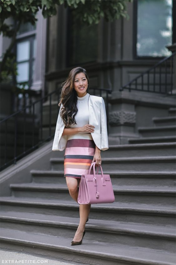 office-inspired-striped-skirt-outfits-15