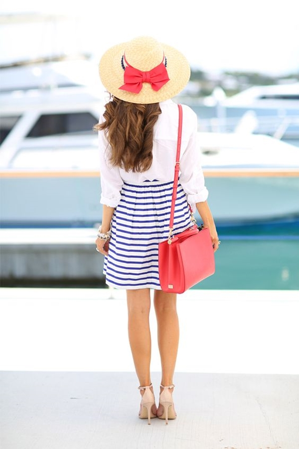 office-inspired-striped-skirt-outfits-2