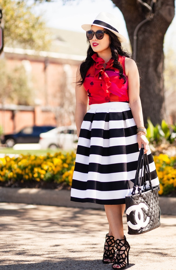 office-inspired-striped-skirt-outfits-22