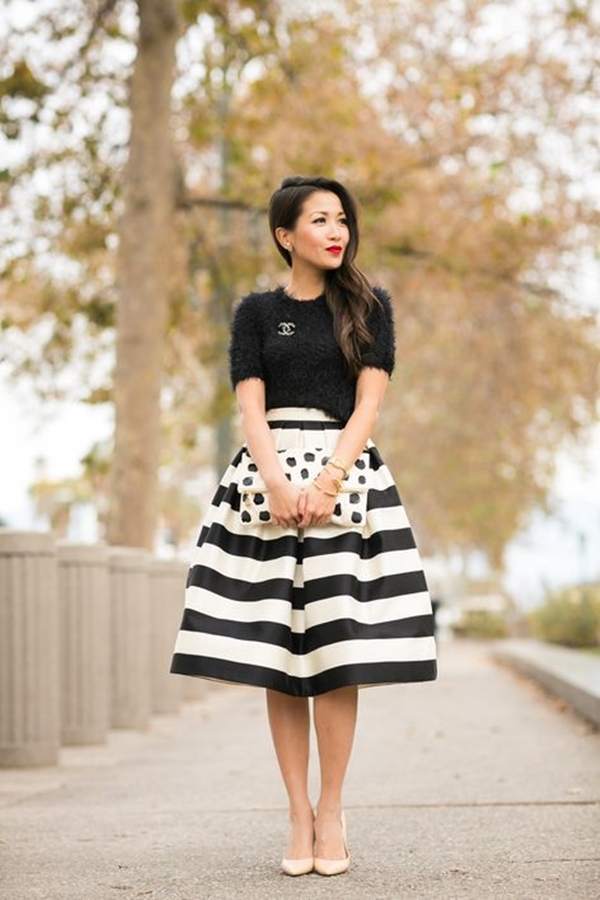 office-inspired-striped-skirt-outfits-23