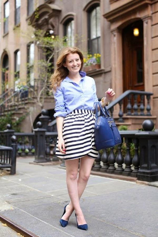 office-inspired-striped-skirt-outfits-25