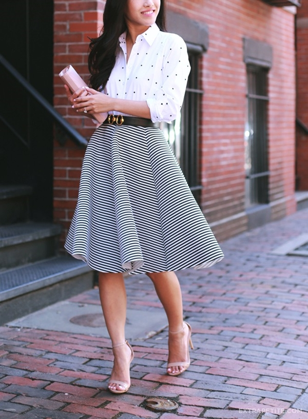 office-inspired-striped-skirt-outfits-40