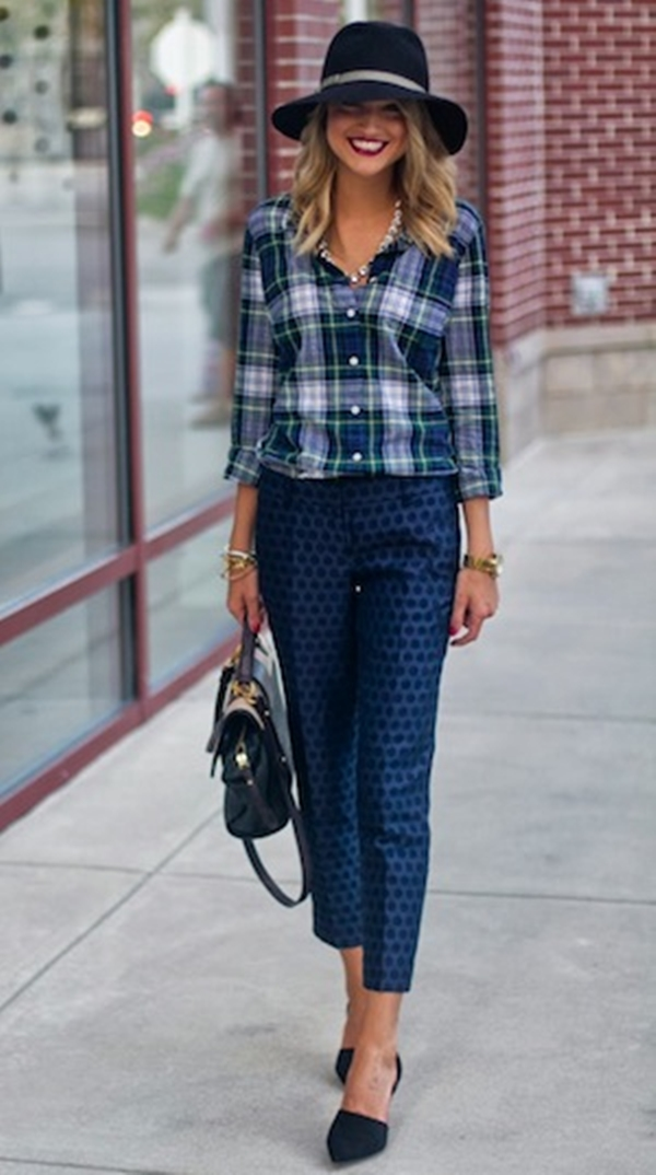 40-gingham-shirt-outfit-for-every-season-10