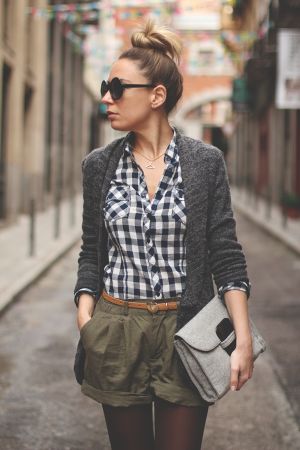 40-gingham-shirt-outfit-for-every-season-11